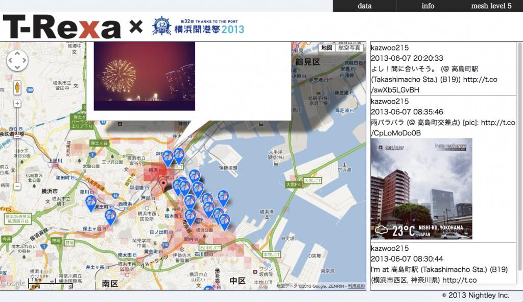 T-Rexa for yokohama_kaikousai2013