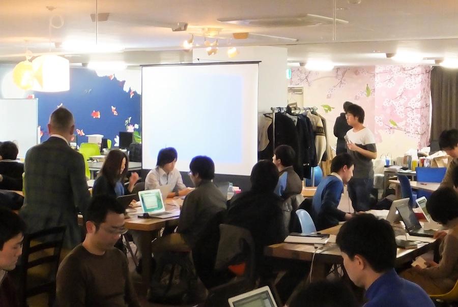 株式会社サムライインキュベート寺久保氏のアレンジでイベントを開始しました。